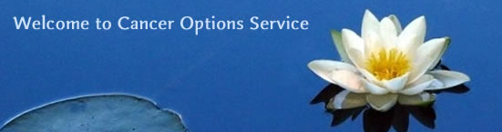 Welcome To Cancer Options Service